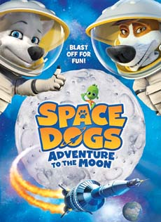 Space Dogs: Adventure to the Moon in USA